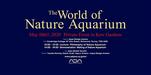 The World of Nature Aquarium