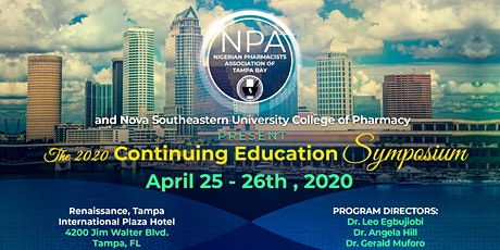 The 2020 NPA of Tampa Bay Continuing Education Symposium tickets