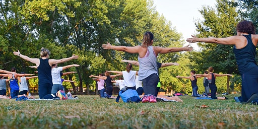 Yoga Event in den Bergen