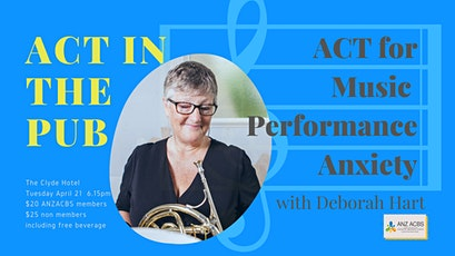 ACT in the Pub - ANZ ACBS Victoria tickets