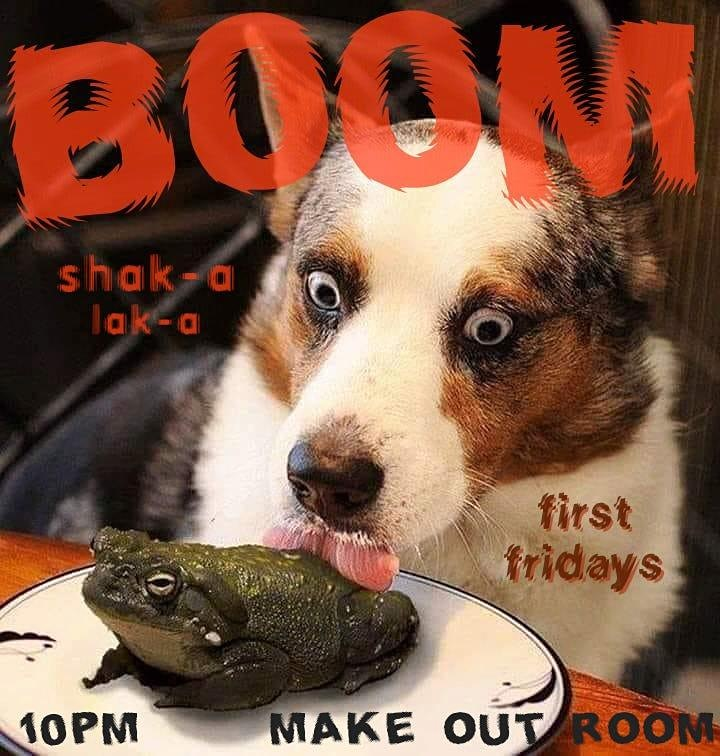 BOOM! Shak-a Lak-a -- Friday Night Dance Party image