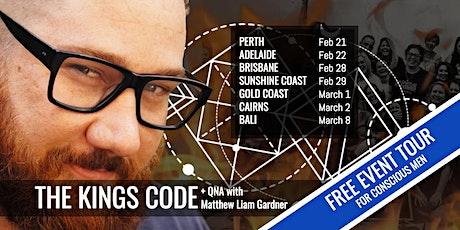 THE KINGS CODE | Sunshine Coast tickets