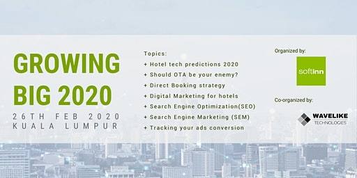 Growing big in 2020: Optimizing Your Hotel's Online Distribution