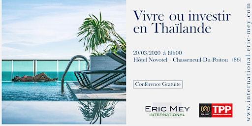 Vivre ou investir en Thaïlande à Poitiers