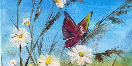 Painting in the Park @ Corbans Estate, Henderson  - Daisies & Butterfly tickets
