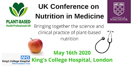 UK Conference on Nutrition in Medicine tickets