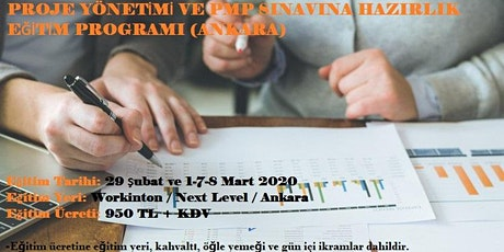 Proje Yönetimi ve PMP Sınavına Hazırlık Eğitim Programı tickets