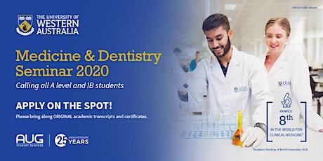 UWA Medicine and dentistry seminar tickets