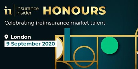 Insurance Insider Honours 2020 Nominations Waitlist tickets