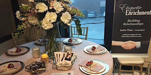 DINING ETIQUETTE and NAPKIN FOLDING-GIRL'S WEEKEND IN MADISON, IN
