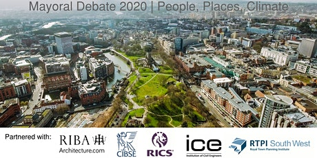 CANCELLED | Bristol Mayoral Debate 2020 | People, Places, Climate tickets