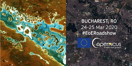 Eyes on Earth Copernicus Roadshow Bucharest Romania