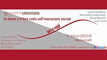 Le donne e il loro ruolo nell'innovazione sociale ieri e oggi