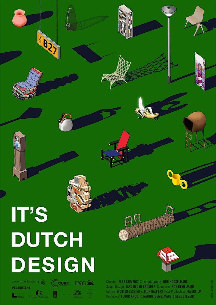 Afbeelding van Ledenmeeting + film It's Dutch Design
