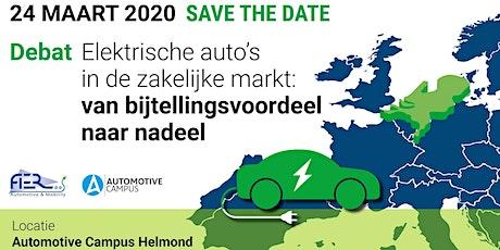Debat: Elektrische auto's in de zakelijke markt tickets