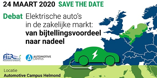 Debat: Elektrische auto's in de zakelijke markt