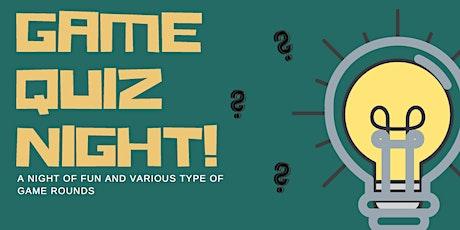 Game Quiz Night tickets