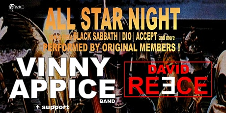 VINNY APPICE + DAVID REECE + support tickets