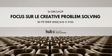 Focus sur le Creative Problem Solving! billets