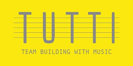 Musical workshop- team building tickets