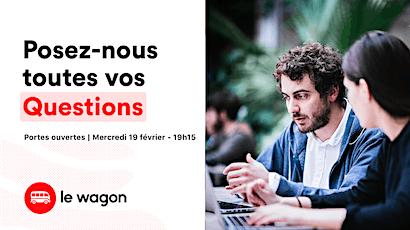 Session d'information le wagon Lyon le 19 février - Apprendre à coder billets