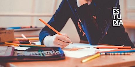 SESIÓN GRATIS: Organización Escolar y Técnicas de Estudio tickets