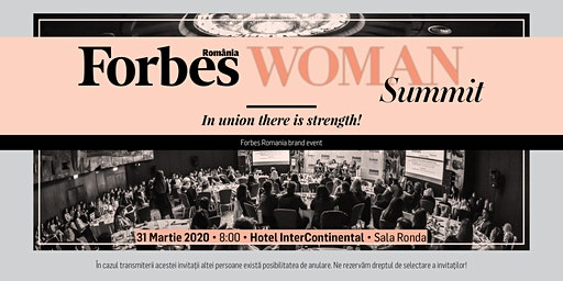 Forbes Woman Summit - 31 martie 2020