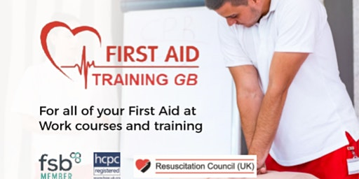 Emergency First Aid at Work including lunch, tea & coffee at Fordhall Farm