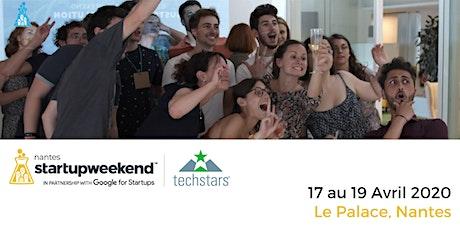 Techstars Startup Weekend Nantes 04/20 billets
