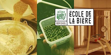 CRAFT BEER brewing workshop (in English) billets