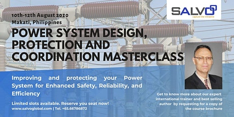 Power System Design, Protection and Coordination tickets