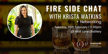 Fire Side Chat with Krista Watkins (+ Networking) tickets