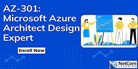 AZ-301: Microsoft Azure Architect Design Expert 4-Days Training in Florida tickets