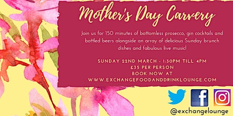Mother's Day Bottomless Lunch 2020 tickets