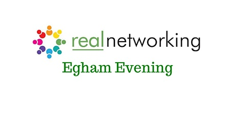 Egham Evening Real Networking March 2020 tickets