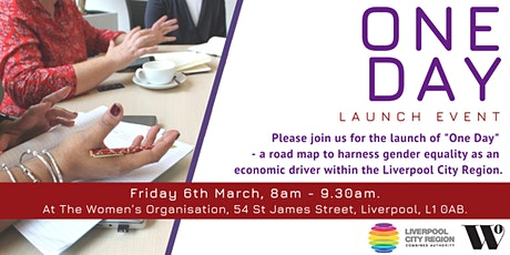 One Day Launch:  a roadmap to  gender equality as an economic driver in LCR tickets