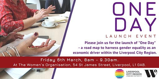 One Day Launch:  a roadmap to  gender equality as an economic driver in LCR