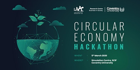 Circular Economy Hackathon 2020 (Coventry, UK) tickets