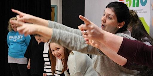 Magu Hyder Drama//Building Confidence in Drama@Theatr Clwyd, in English