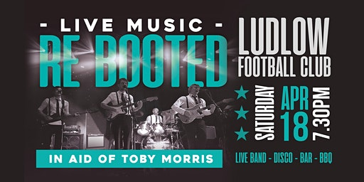 Re Booted - Live!  In aid of Toby Morris