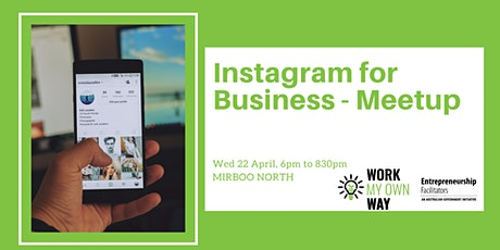 Instagram for Business Meetup tickets