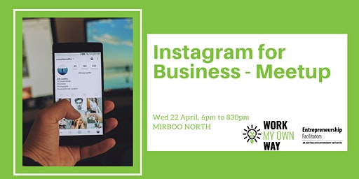 Instagram for Business Meetup