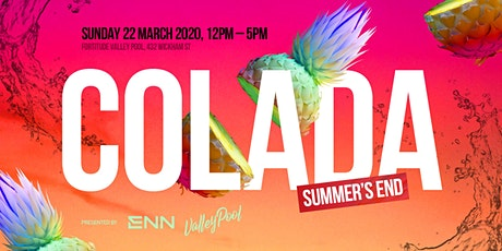 COLADA: Summer's End tickets