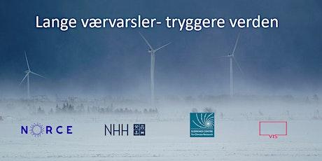 Lange værvarsler - tryggere verden (utsatt pga koronavirus) tickets