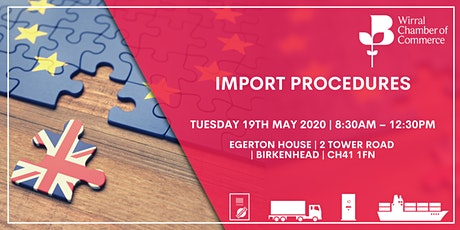 BCC Accredited Import Procedures Training tickets