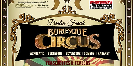 BERLIN FREAK BURLESQUE CIRCUS SHOW is back!