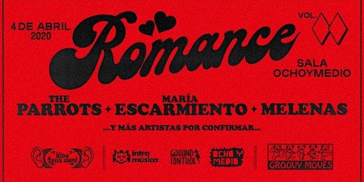 Romance: The Parrots, María Escarmiento, Melenas y más