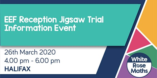 **FREE** EEF Reception Jigsaw Trial - Information Event (Halifax)