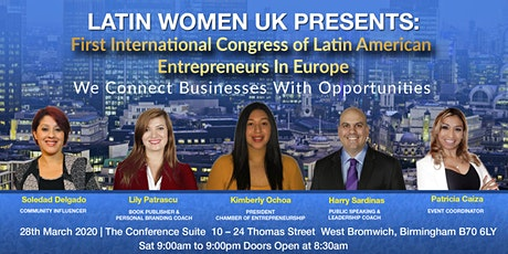 First International Congress of Latin America Entrepreneurs In Europe tickets