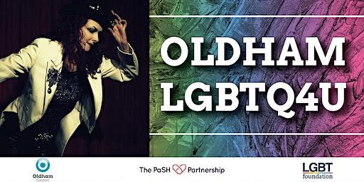Oldham LGBTQ4U Launch Night with Rosie Garland